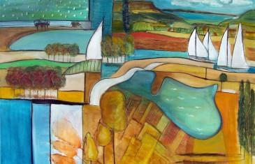 Hullan Bea festményei