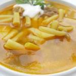 Palóc jellegű leves