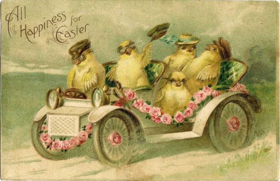 Húsvét régi képeslapokon2