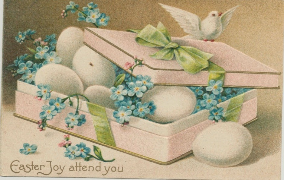 Húsvét régi képeslapokon3