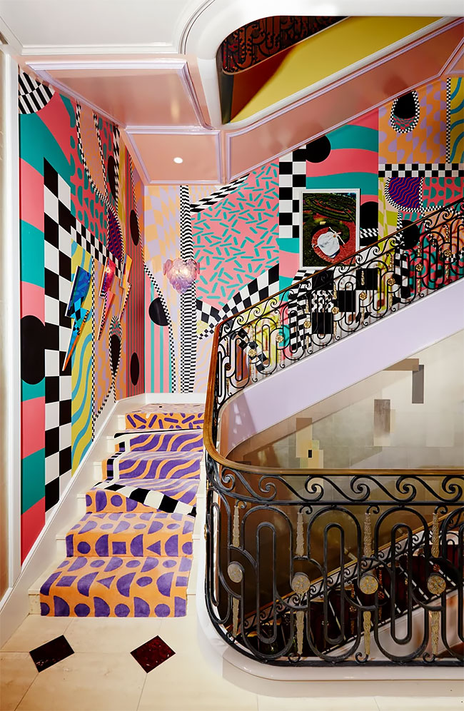 Sasha-Bikoff-Creates-The-Funkiest-Staircase-Ever