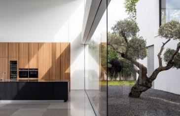 Ház belső kerttel