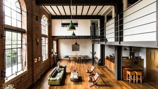 Loft egy viktoriánus ipari épületben